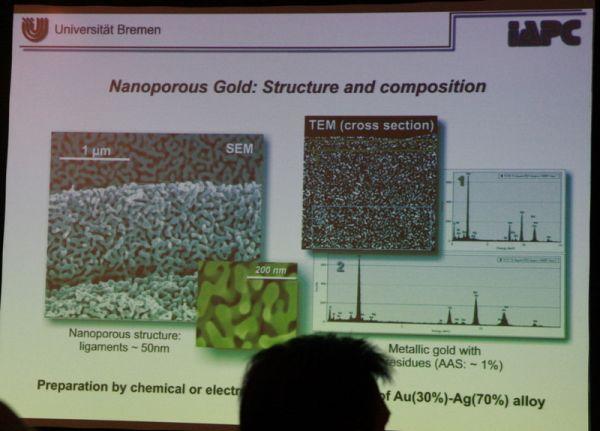 Нанопористое золото - как новый каталитический материал