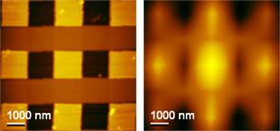 автокорреляционная функция изображения калибровочной решетки