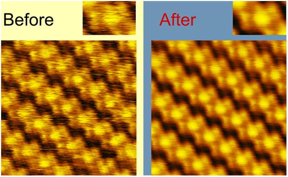 Улучшение изображения при помощи корреляционного фильтра