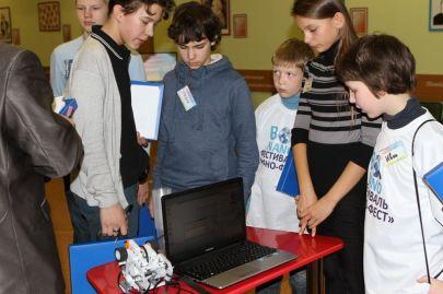Робототехническая лаборатория в Технораме