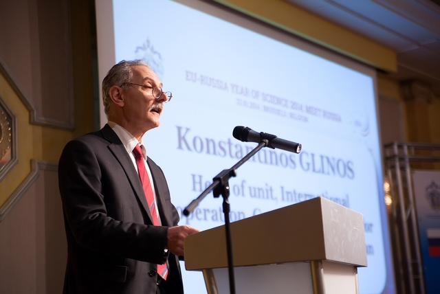 Константинос Глинос, руководитель подразделения международного сотрудничества Генерального Директората по развитию инноваций Европейской комиссии