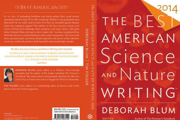 ������� �������� «The Best American Science and Nature Writing 2014»