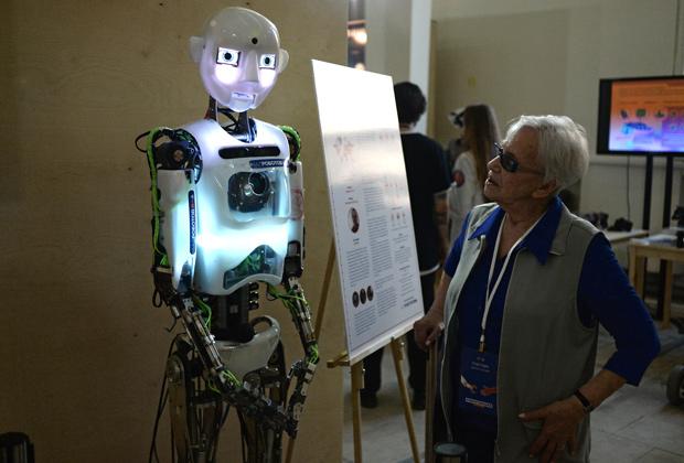 Телевизионный робот Tespian