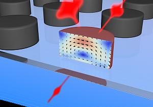 Прибор, представляющий собой диск диаметром в 250 нанометров, способен переключать оптические импульсы за время, исчисляемое фемтосекундами (фемтосекунда представляет собой одну миллионную долю от одной миллиардной доли секунды)