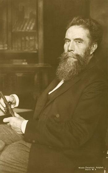 Portrait of Wilhelm Conrad Röntgen